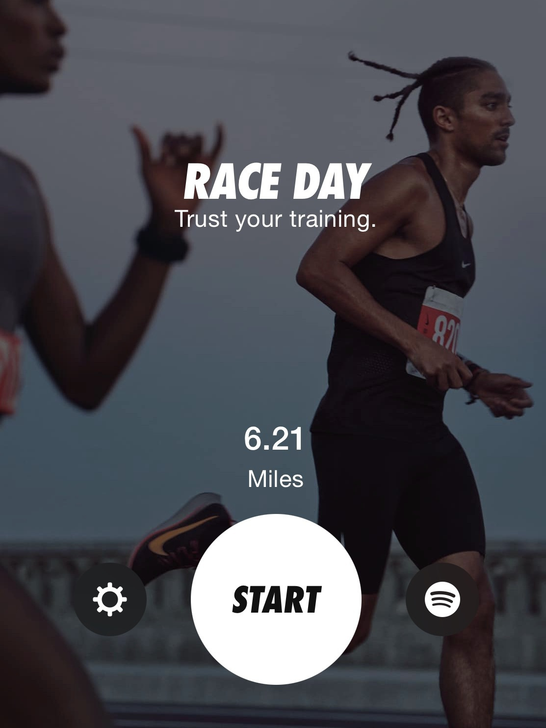 10K Trained for with an app