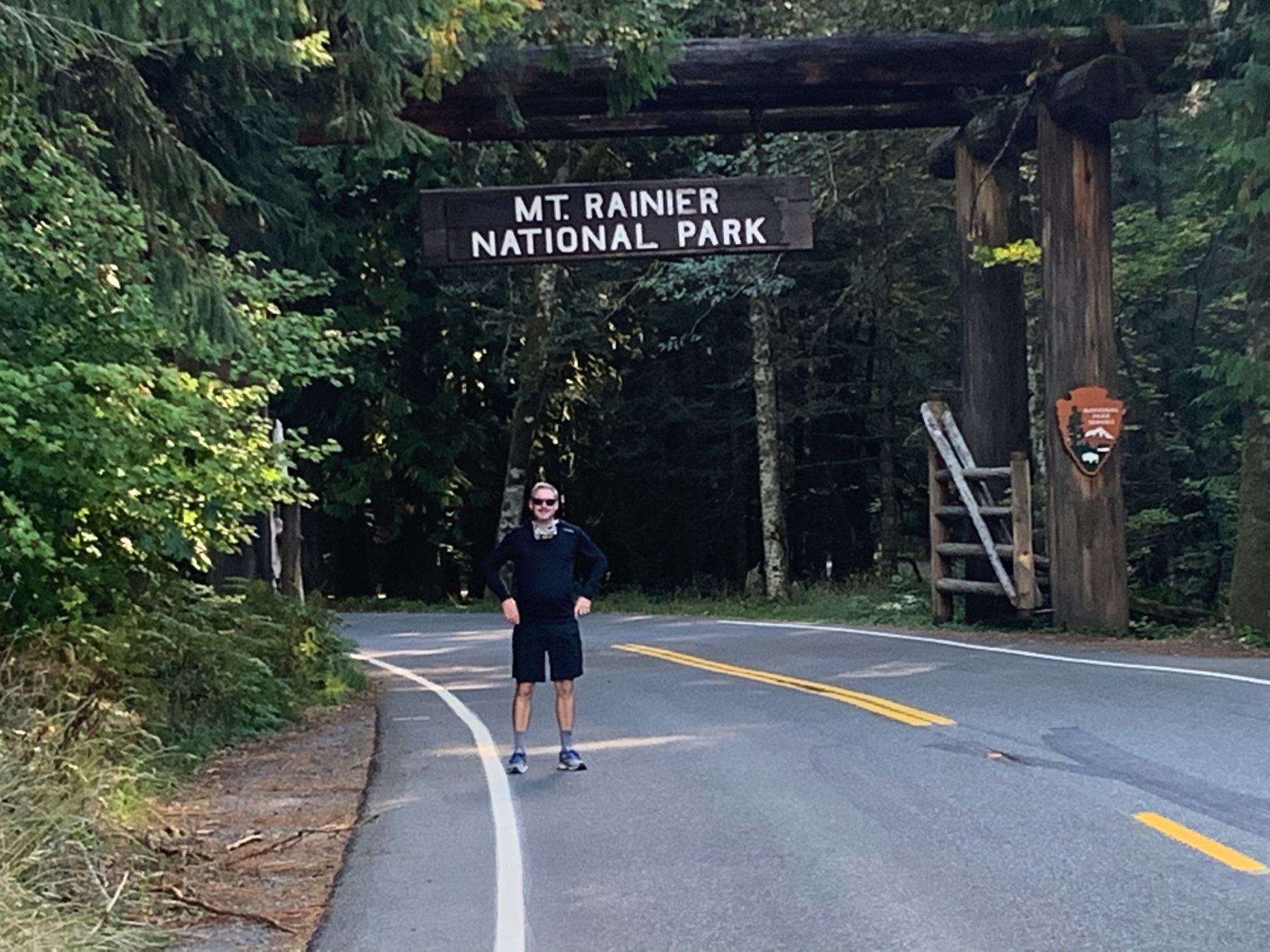 Mt Rainier National Forest Nisqually Entrance